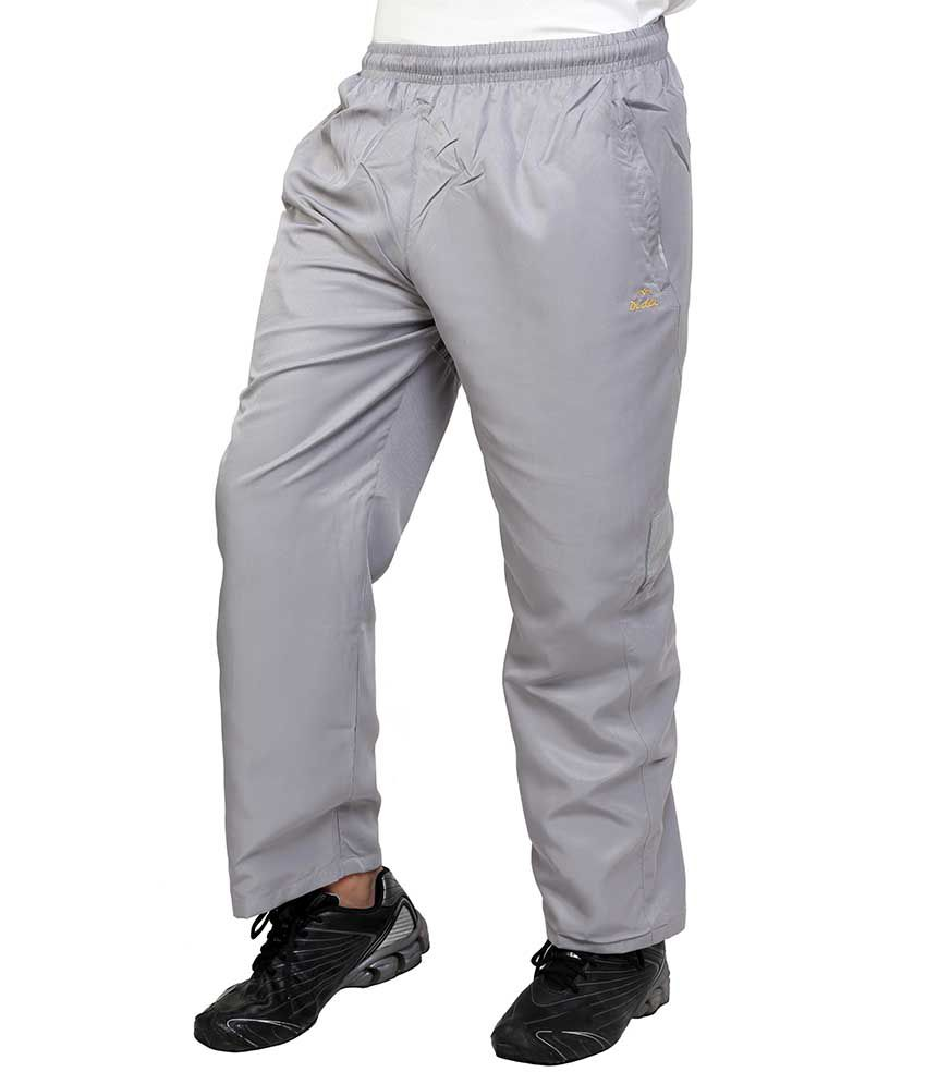Dida  Gray Polyester Trackpant