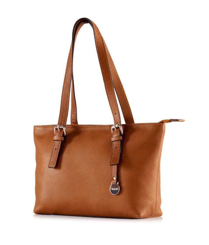 4af999ef18 Essence Brown Handbag - Buy Essence Brown Handbag Online at Best Prices in  India on Snapdeal