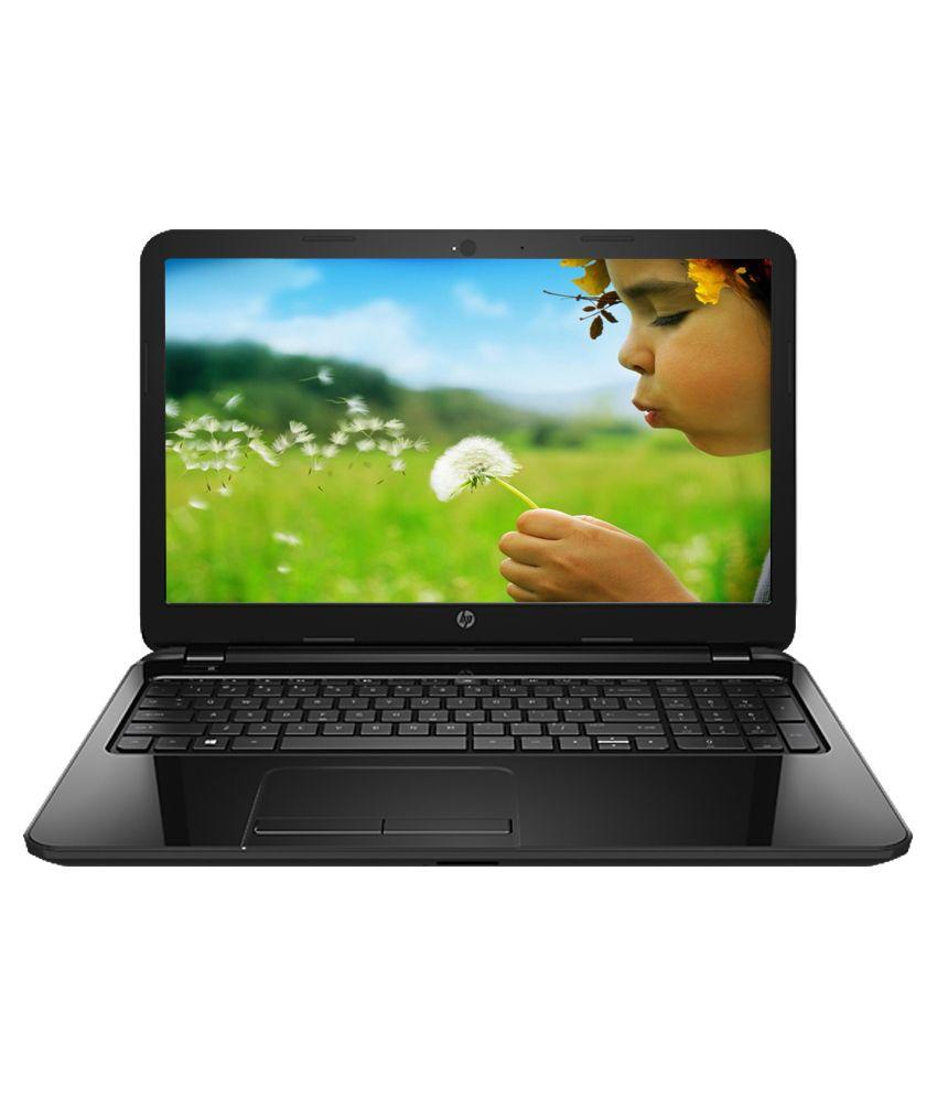 HP 15-r062tu Notebook (4th Gen Intel Core i3- 4GB RAM- 500GB HDD- 39.62cm (15.6)- Ubuntu) (Sparkling Black) (J8B76PA)