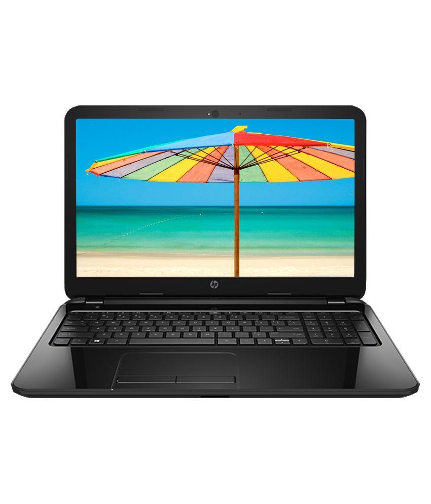 HP R073TU Laptop (Intel Celeron- 4GB RAM- 1TB HDD- 39.62cm (15.6)- DOS) (Sparkling Black)