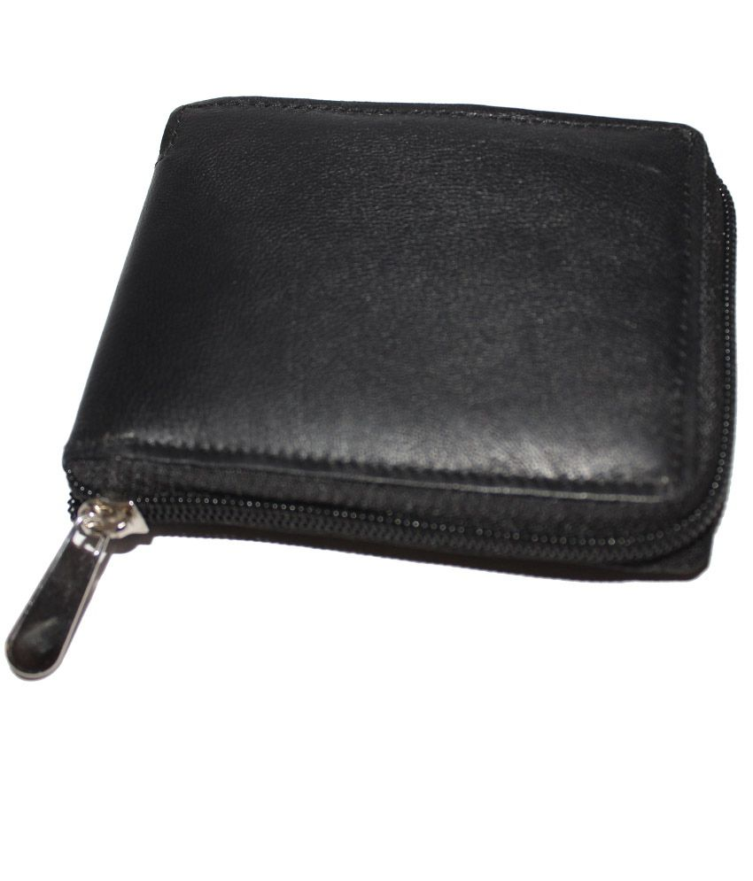 f1b7091e4f1 S2m Leather Men s Wallet Black  Buy Online at Low Price in India - Snapdeal