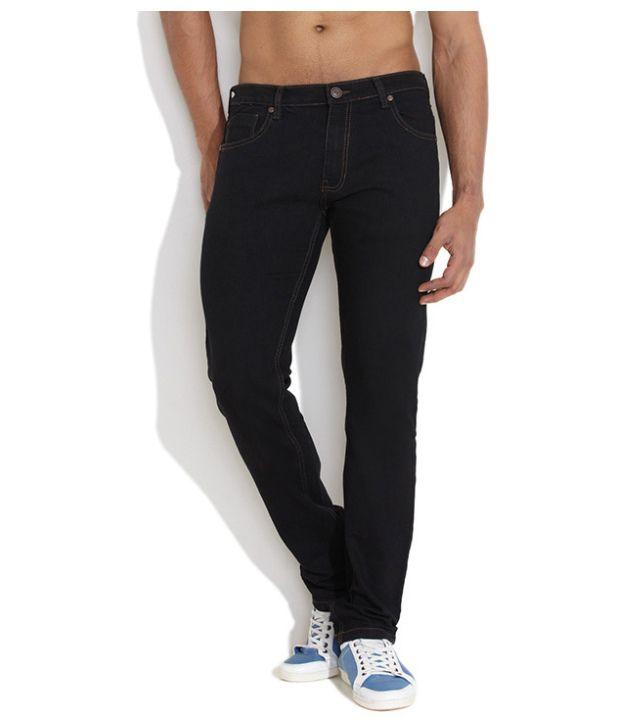 Uid Men Jeans With Round Pocket