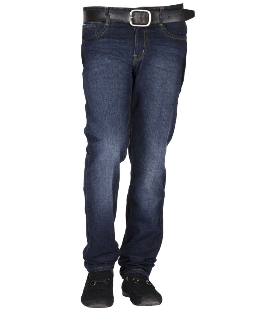 X Pozinc Blue Regular Jeans