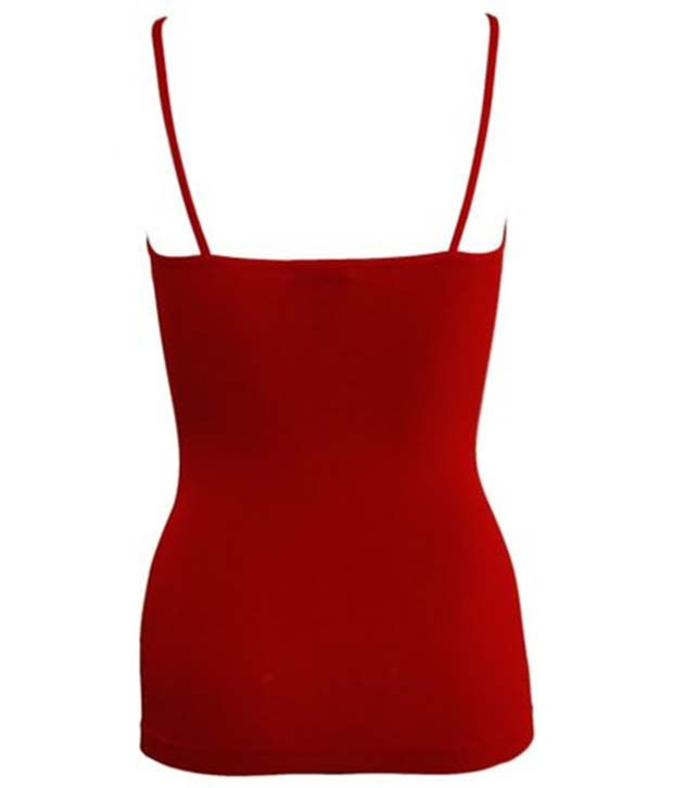 Our Rituals Camisole Red Removale Straps