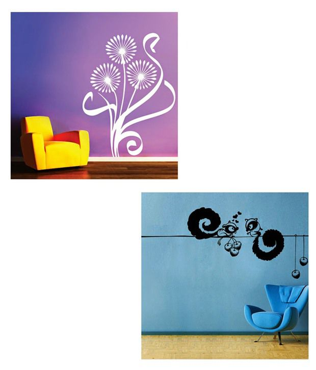 destudio pvc film fun wall stickers buy one amp get one shop fun wall stickers on wanelo