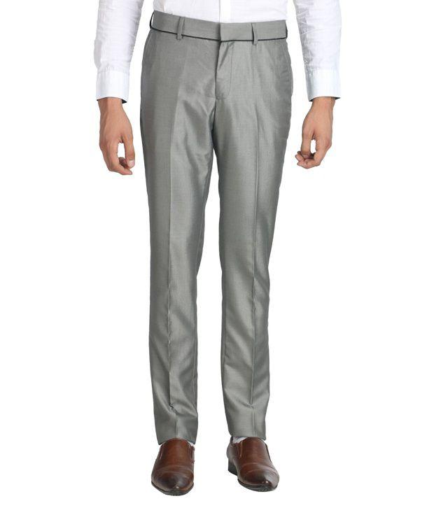 Van Heusen Gray Slim Formals