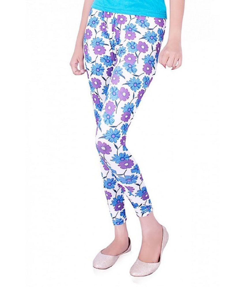 Mayoni Ankle Length Printed Legging Price in India - Buy Mayoni ...