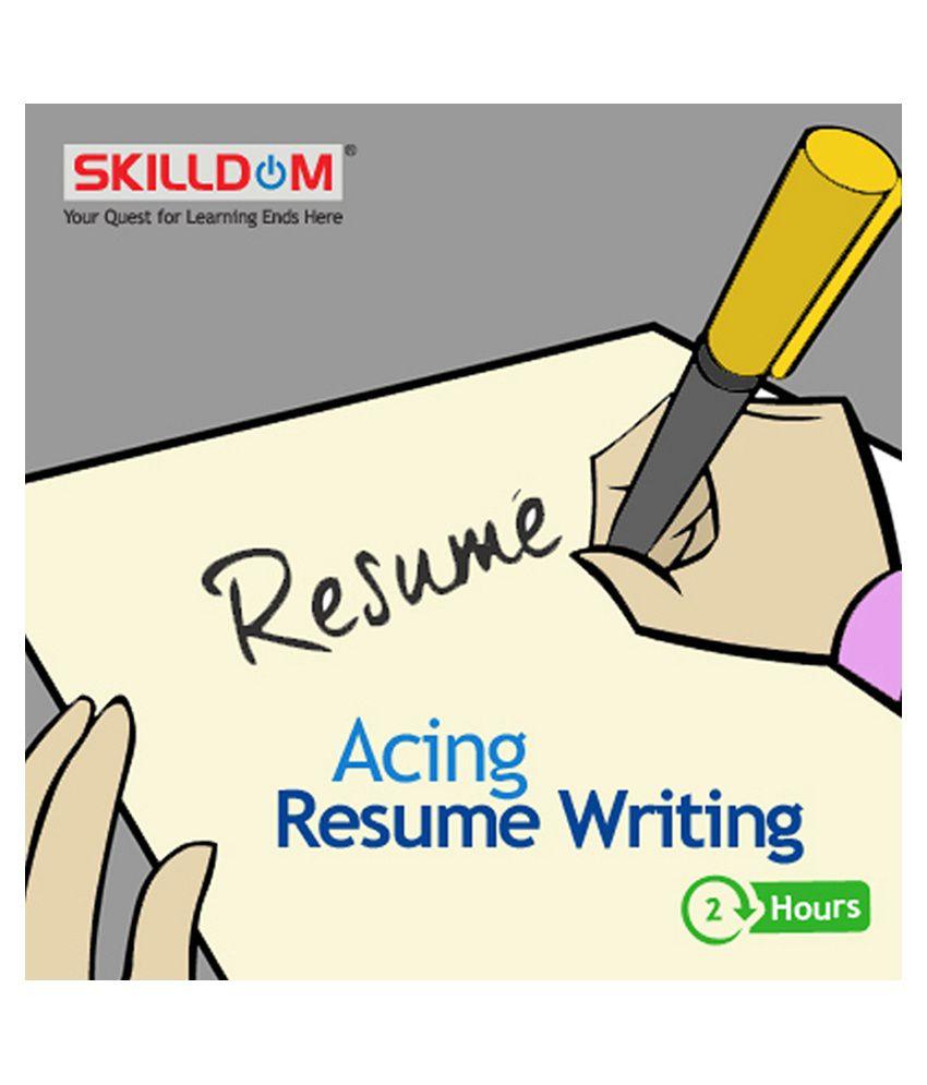 Online resume writing training