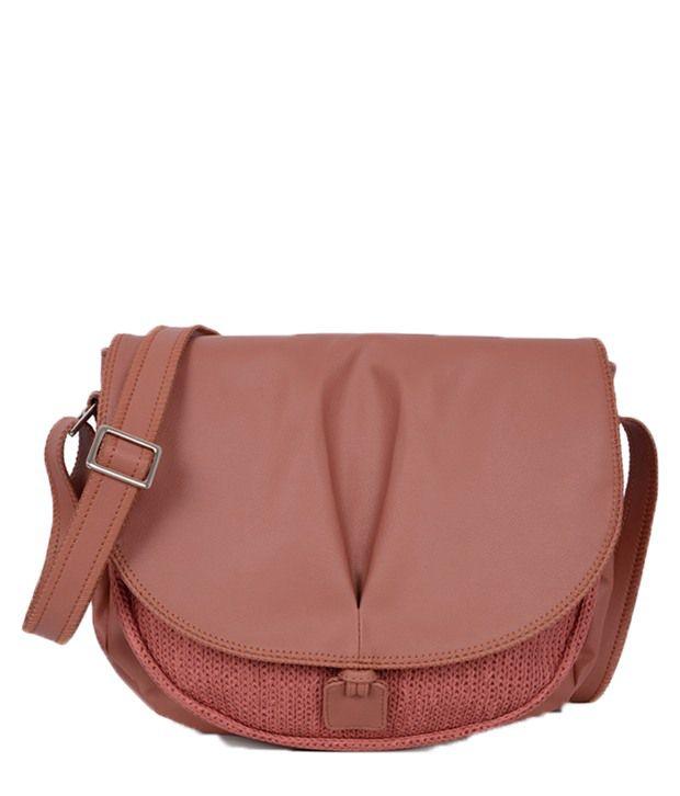 Baggit 2177920485830 Pink Sling Bags - Buy Baggit 2177920485830 ...