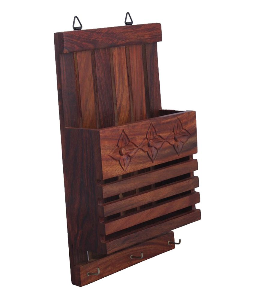Wall Key Holder Craftsman Wood Key Holder Brown Buy Craftsman Wood Key Holder