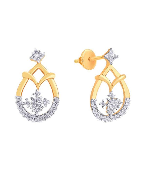Gdivas Gie00107sigh Contemporary Gold Earings