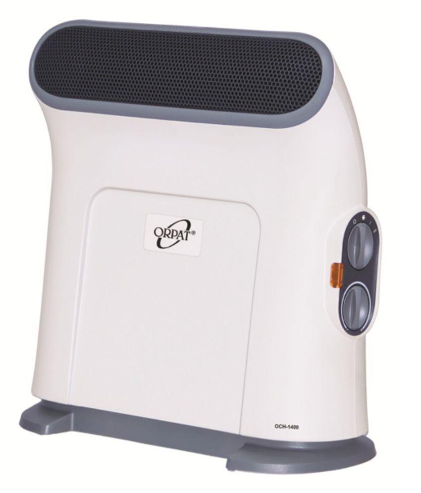 Orpat 1250 & 2500 OCH-1400 Room Heater White