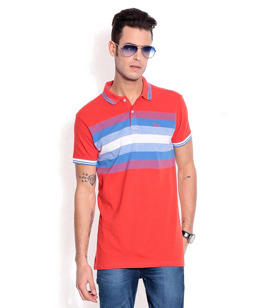 Ruggers Young Red Cotton T-shirt