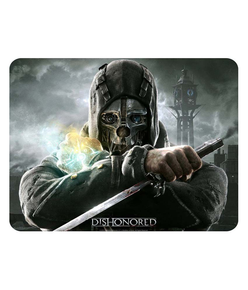 Shopkeeda Dishonored Mouse Pad
