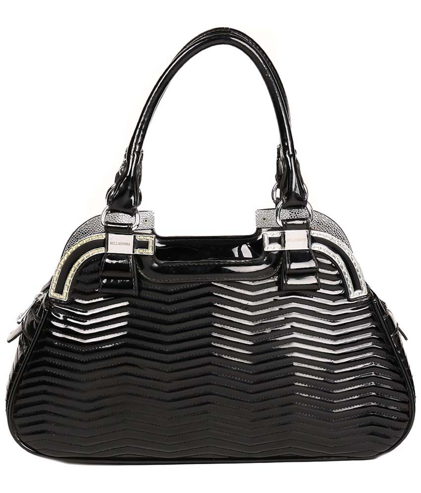 Reyna nk7-black Black Shoulder Bags