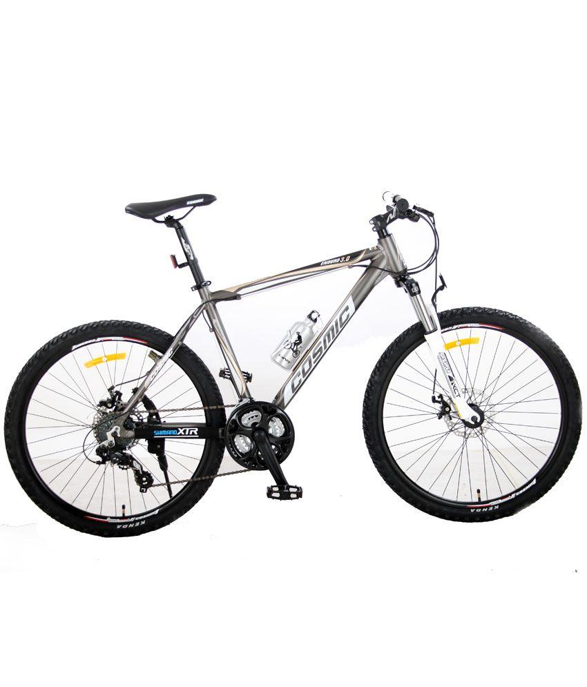 Cosmic Enduro 3d Mtb Bicycle Grey 24 Speed Buy Online
