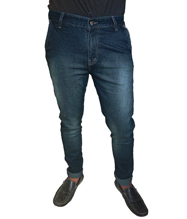 Oiin Cross Pocket Blue Colour Jeans