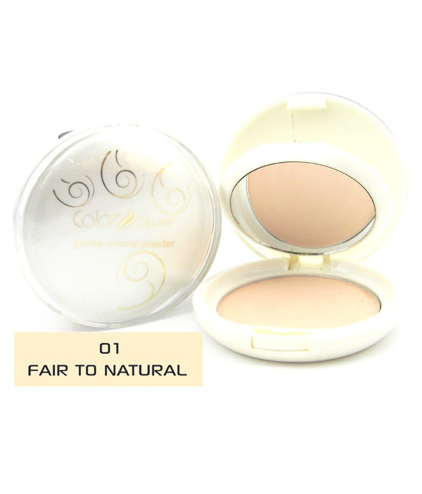 Color Fever Gentle Creme Powder - Fair To Natural