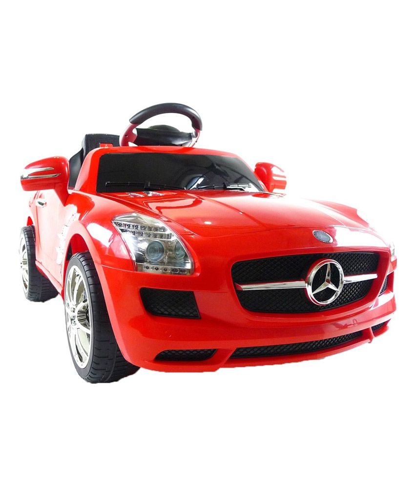 happy kids battery operated mercedes sls ride on car with remote control red