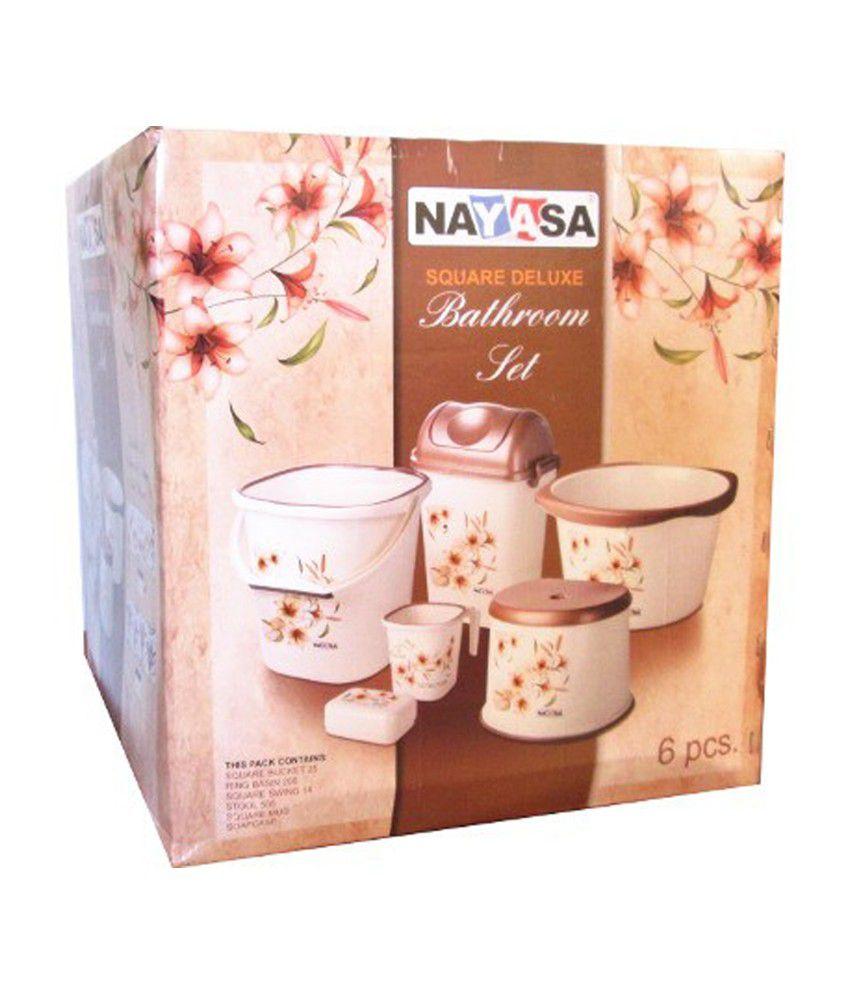 Nayasa Bathroom Set Nayasa Bathroom Set