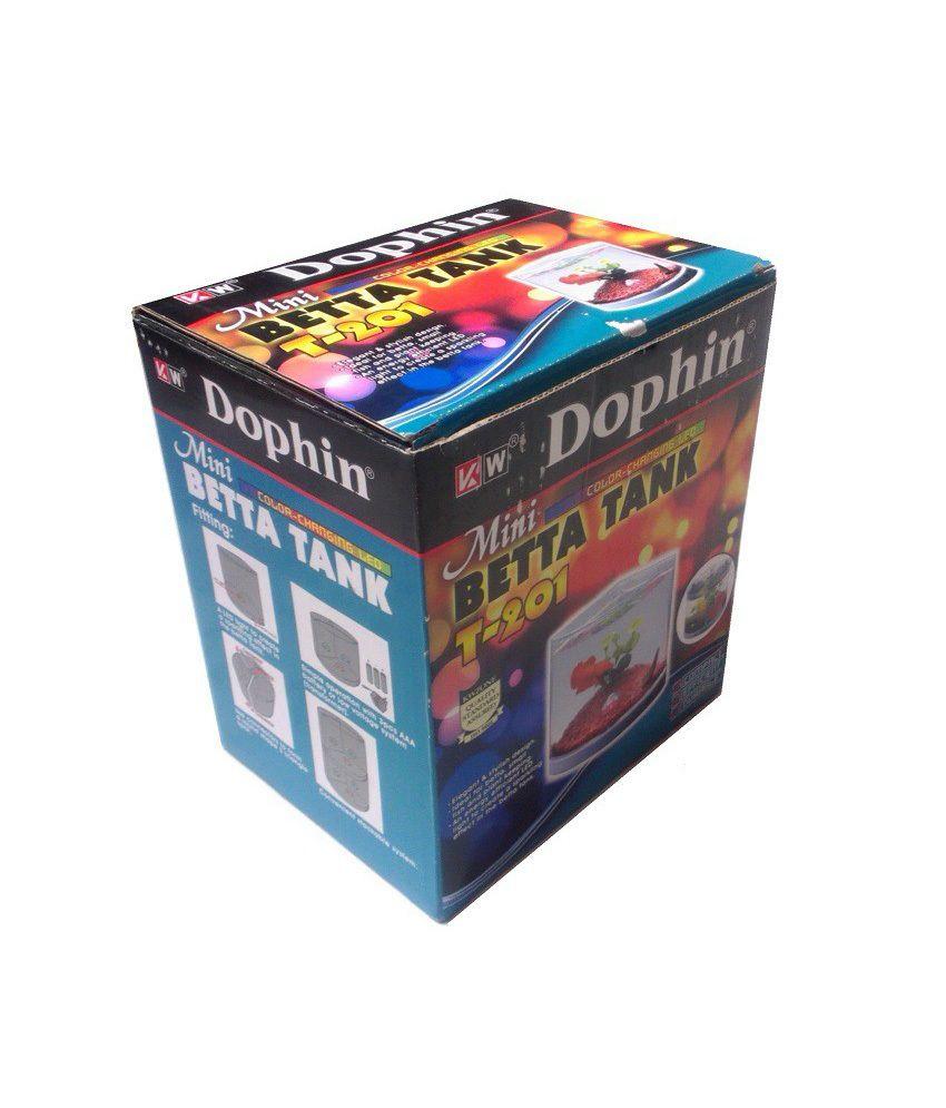 Aquarium fish tank snapdeal -  Dophin Fish Tank Mini Aquarium Change Colors