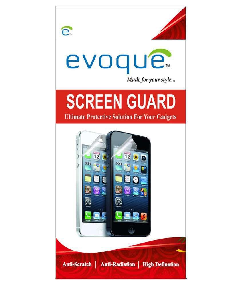 Evoque Clear Screen Guard for Nokia Xl