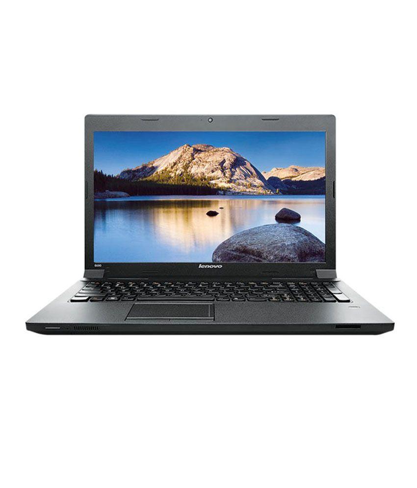 Lenovo IdeaPad B40-70 (59-433780) Laptop (4th Gen Intel Core i3- 4GB RAM- 500GB HDD- 35.81 cm (14.1)- DOS) (Black)