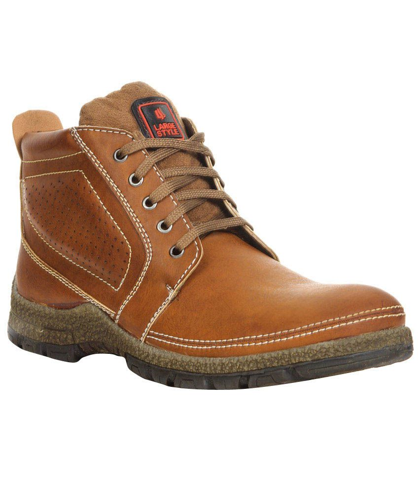 Do Bhai Collections Brown Boots
