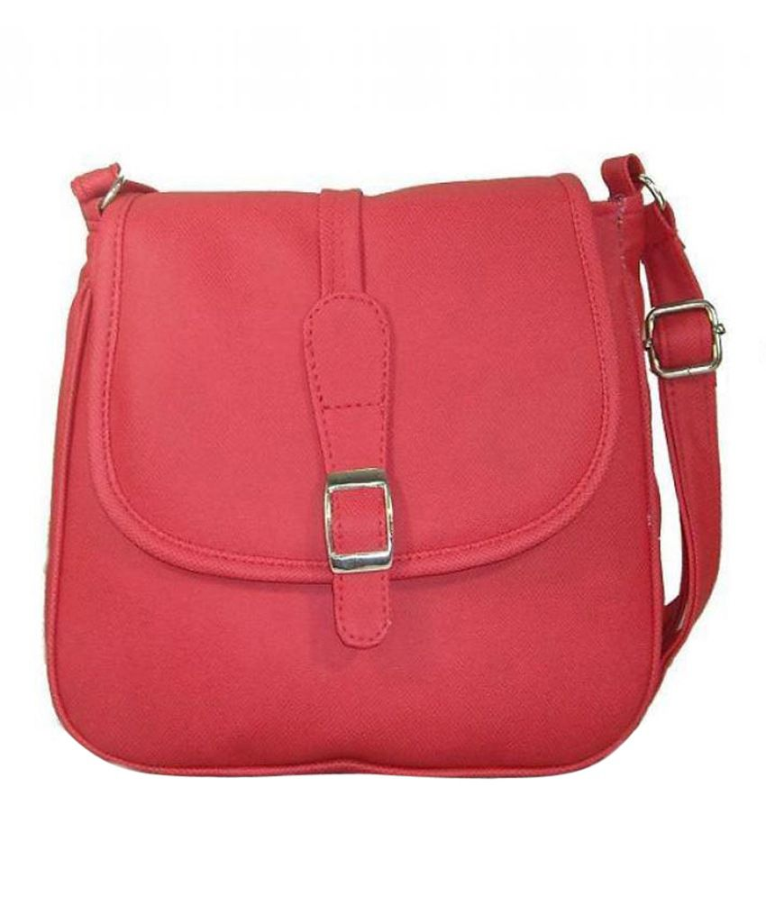 Buy Estoss Red Designer Sling Bag at Best Prices in India - Snapdeal