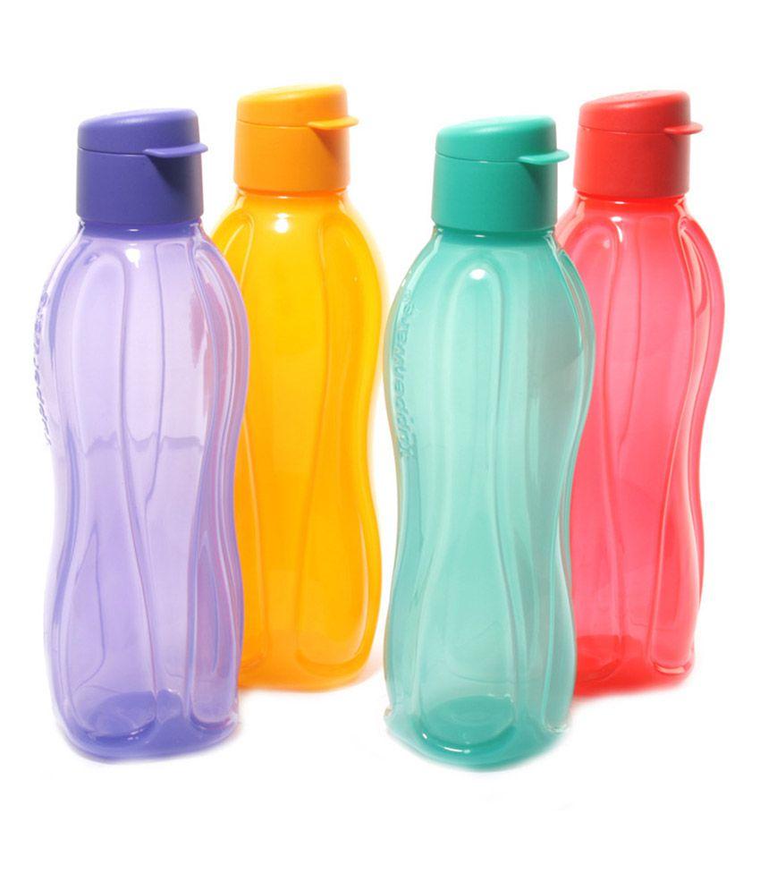Tupperware Fliptop Bottles 4pcs 500ml Buy Online At Best Price