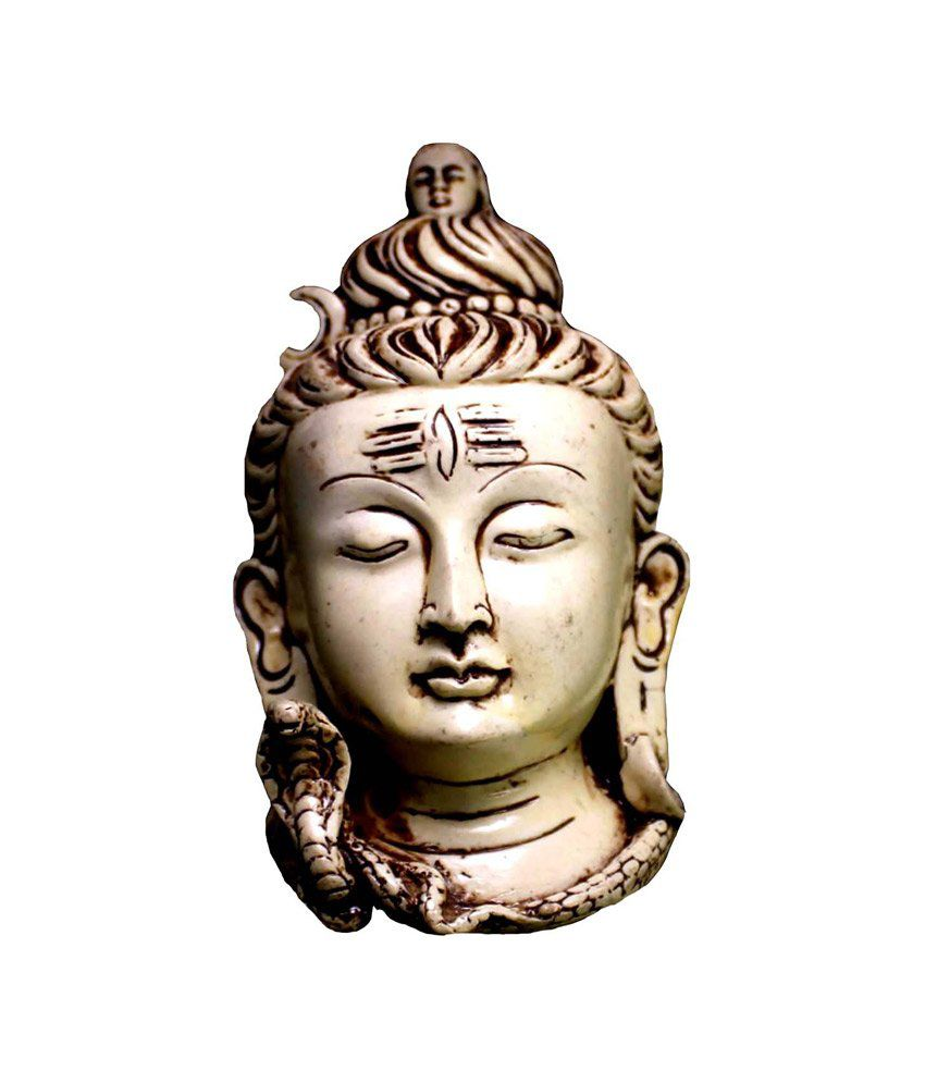 Craft Store India Hand Made Resin Shiva Idol 5 Inchx3 Inch