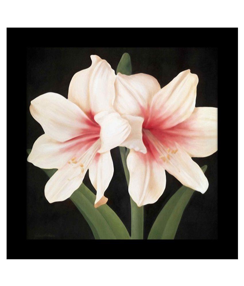 Elegant Arts & Frames Floral Multi-Colour Framed Art Print