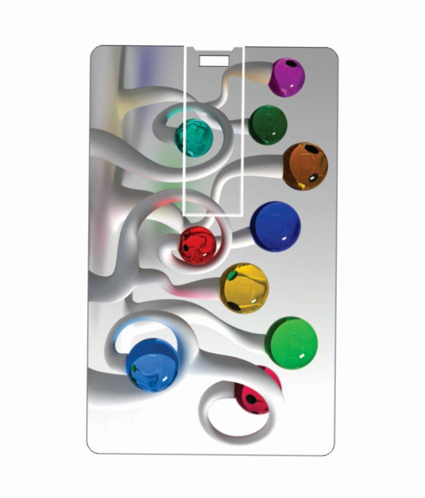 Printland art tree 8GB 8 GB Pen DrivesMulticolor