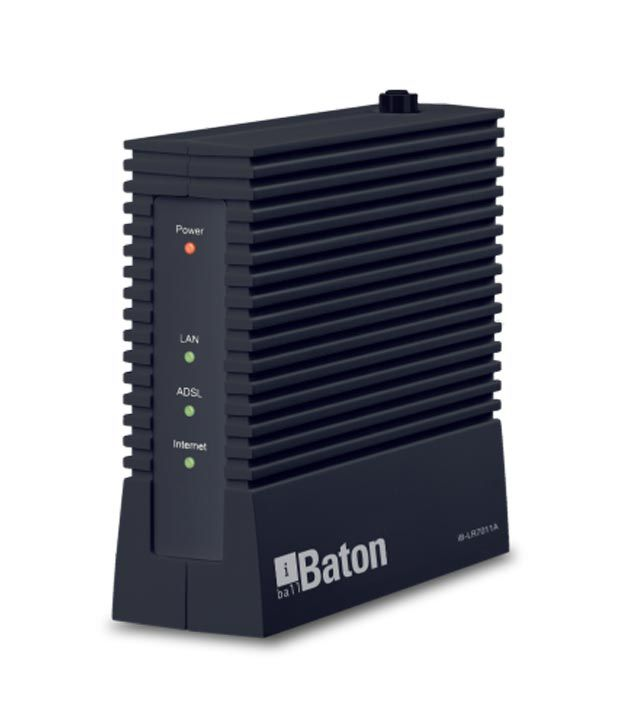 Iball 24 Mbps Ethernet Routers & Switches (Allows user to access high-speed internet through RJ45 LAN Port ) ( )