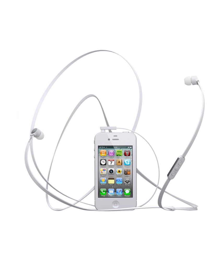 Jays A Four In Ear Earphones For I Phone White With Mic Buy Fleksible Earphone Ipad 3