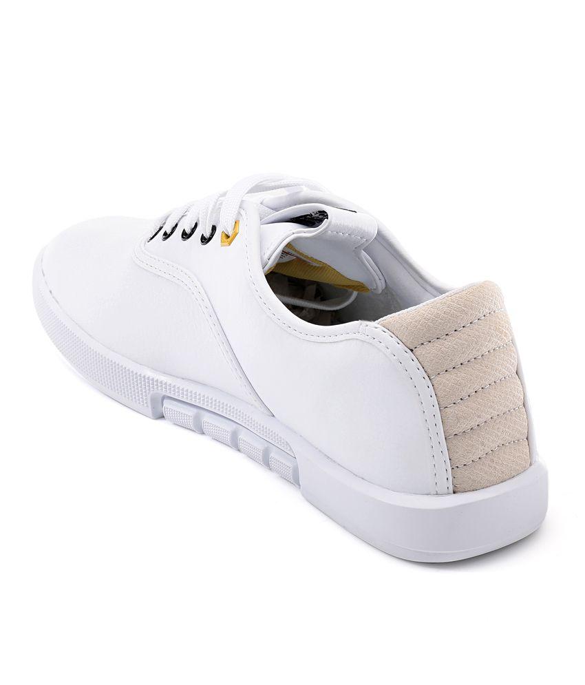 Puma White Canvas Shoes Puma