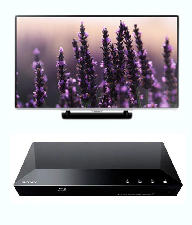 Samsung 40H5140 101.6 cm (40) Full HD LED Television + Sony S1200 Bluray Player