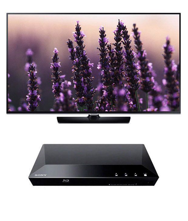 Samsung 48H5500 122 cm (48) Full HD Smart LED Television + Sony S1200 Bluray Player