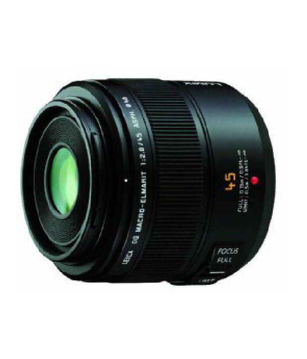 Panasonic Leica Dg Macro-elmarit 45mm/f2.8 Asph Lens With Mega Ois For Micro Four Thirds Interchangeable Lens Cameras