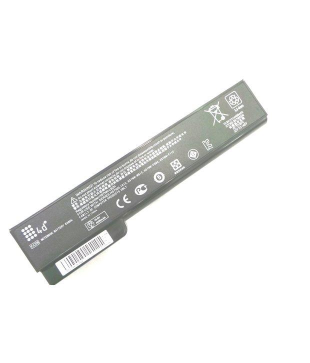 4d Hp Elitebook 6560b 6 Cell Laptop Battery