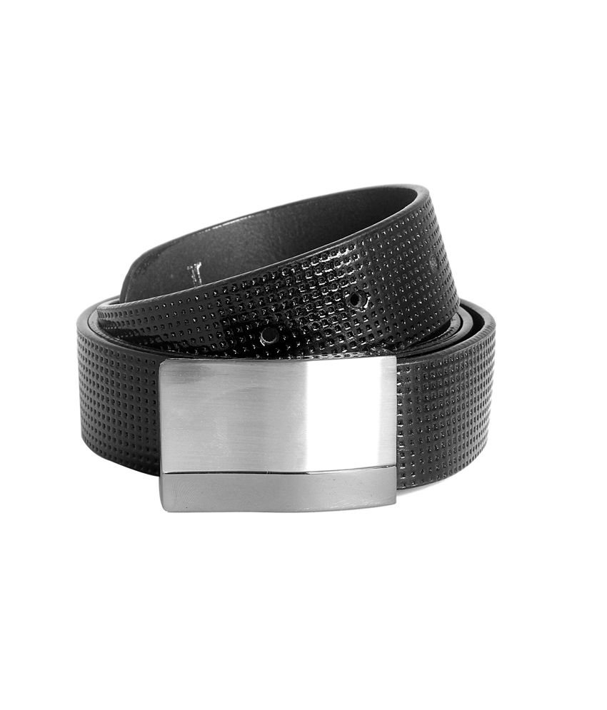 Ligans Ny Black Leather Formal Belt