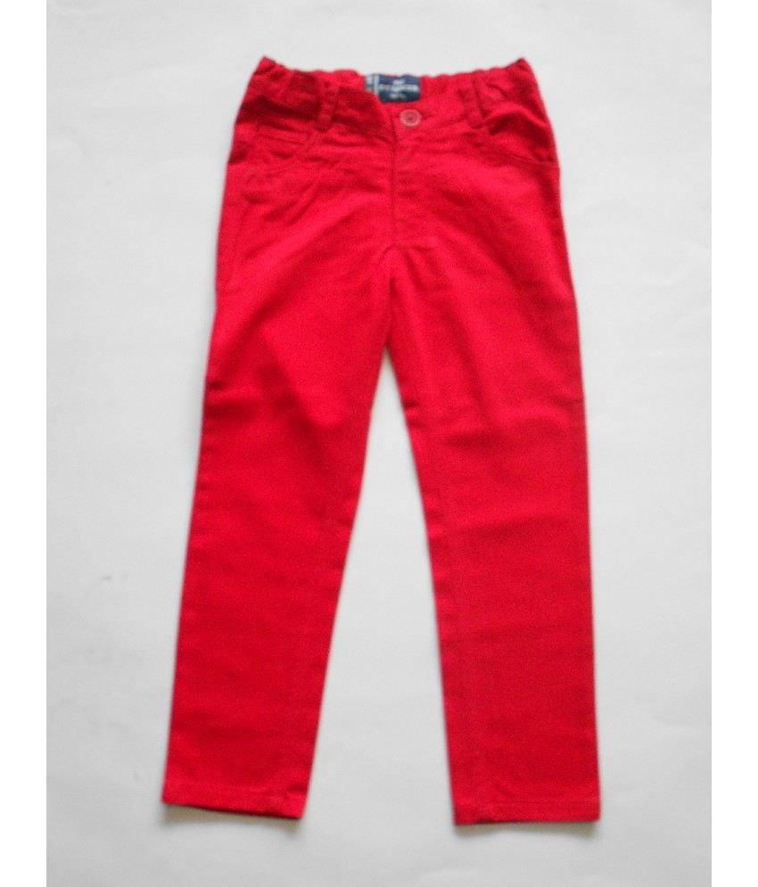 612Ivyleague Red Color Pants For Kids