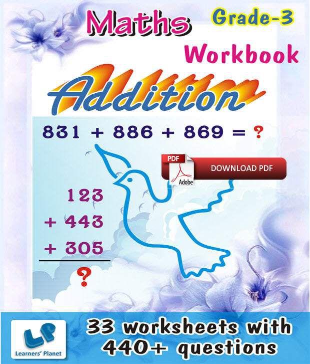 Grade-3-Math-Addition-Workbook (E-Books, Downloadable PDF
