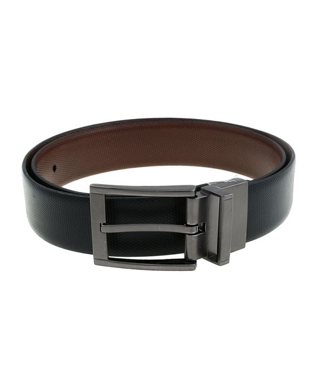 Lino Perros Black$Brown Formal Reversible Belt ForMen