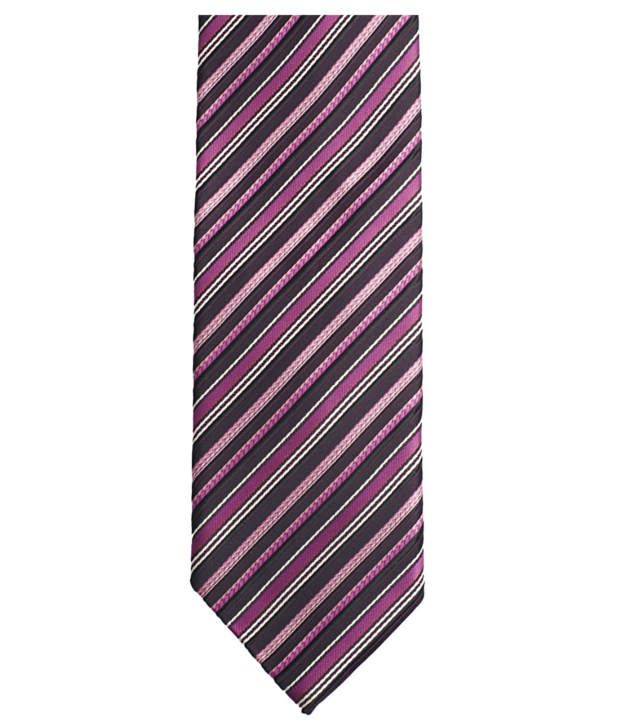 Lino Perros Pink Micro Fiber Formal Broad Ties