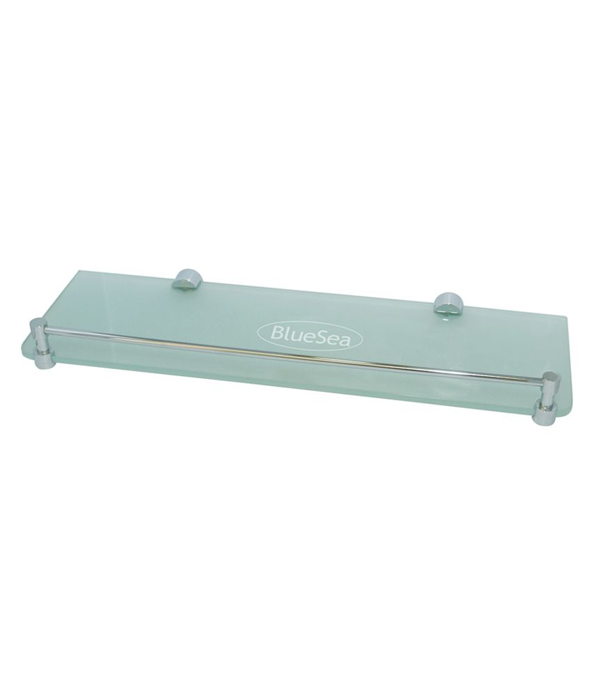 Buy Bluesea Glass Shelf 16x5inch 6 Mm Frosted & Thoughned Glass ...