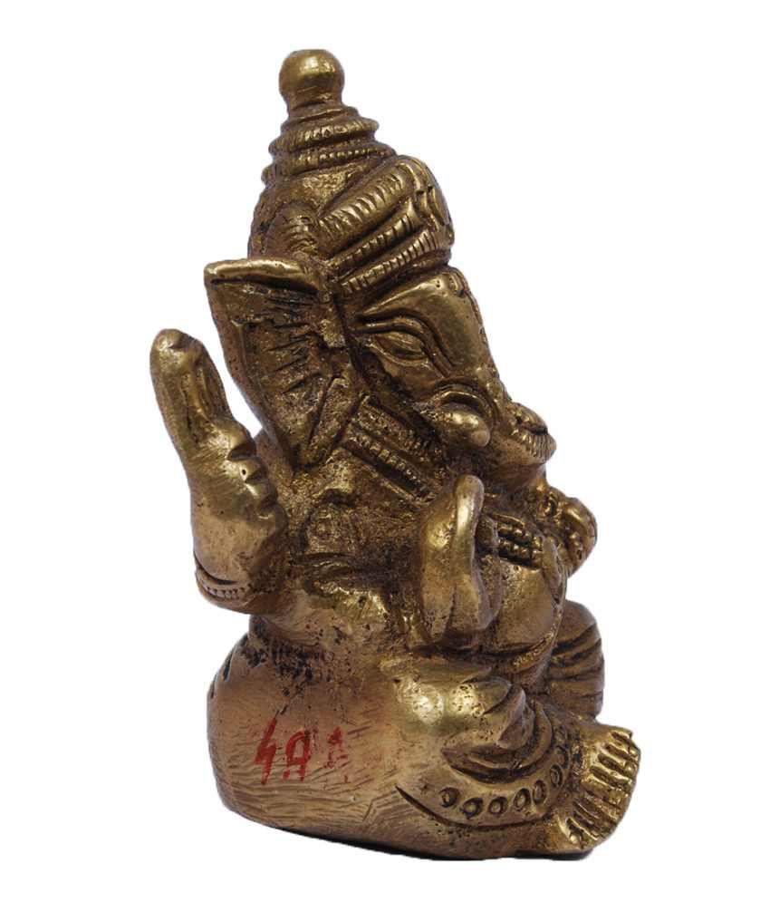 Karachi Stationary Mart Brass Ganesh Idol