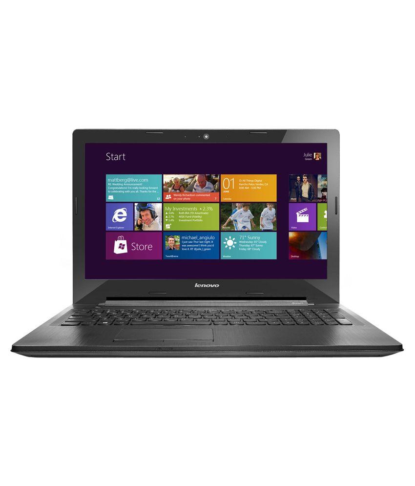 ee840e621b80 Lenovo G50-30 (80G0015GIN) Notebook (Intel Pentium- 4GB RAM- 1TB HDD-  39.62cm (15.6)- Windows 8.1) (Black) - Buy Lenovo G50-30 (80G0015GIN)  Notebook (Intel ...