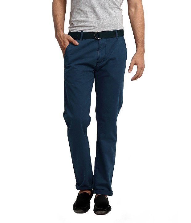 Levi's Blue Cotton Slim Jeans
