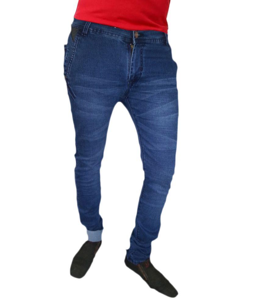 Peter John Blue Slim Fit Jeans